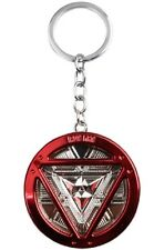 Marvel's IRONMAN Stainless Steel Red/Silver Metal Keychain