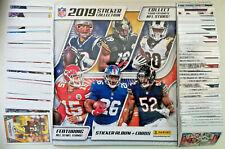NFL AMERICAN FOOTBALL OFFICIAL UK PANINI COMPLETE STICKER SET &  ALBUM 2019/20
