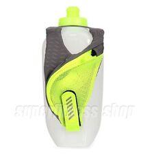 Nike Large Handheld Flask Water Bottle 20OZ, Gray x Green