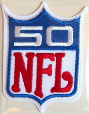 NFL NATIONAL FOOTBALL LEAGUE 50th ANNIVERSARY NFL PATCH Willabee Ward WORN 1969