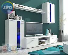 TV Wall Unit New Modern Set of Living room Furniture FREE DELIVERY/LED LIGHTS