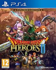 DRAGON QUEST HEROES II (2) Explorer's Edition (PS4) New Sealed PAL