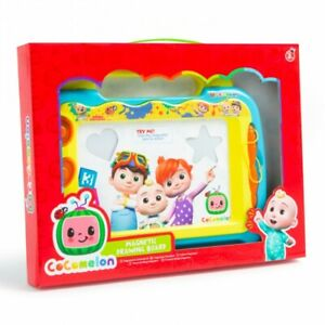 COCOMELON TV PROGRAMME KIDS  MAGNETIC DRAWING BOARD TOY GAME GIFT AGES 3+