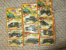 Welly joblot army action force military cars jeeps sealed etc lot b