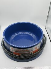 K&H Thermal Bowl Heated Dog Cat Pet Food 96 Ounce - No More Frozen Water! Blue