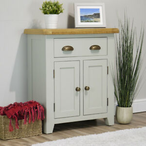 Arklow Grey Oak Sideboard   Solid Painted Small Cupboard   FULLY ASSEMBLED