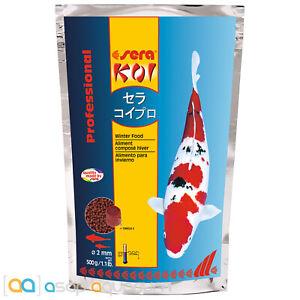 sera Koi Professional Winter Food 500 grams Cold Weather Koi Fish Food Pellets