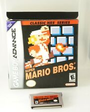 Super Mario Bros. Classic NES Series (Nintendo Game Boy Advance, 2004) Complete