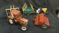 Britans Ltd Fiat Tractor Farm Implements And Animals Lot