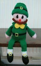 Carefully Hand Knitted Seamus the Leprechaun