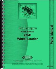 Michigan 275, 275B Wheel Loader Parts Manual