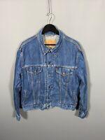 LEVI'S Denim Jacket - Size XL - Navy Wash - Great Condition - Men's