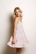 Polyester Polka Dot Regular Size Women's Tea Dresses