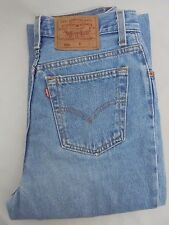Women's Vintage 501 Levi's Denim Jeans High Waist Mom Size 9 Long Made in USA
