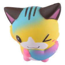 Jumbo Squishy Cute Squishies Slow Rising Cream Scented Heart Love Colorful Cat