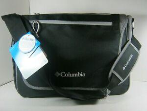 Columbia Solar Ridge Messenger, Baby Diaper Bag, Black Grey