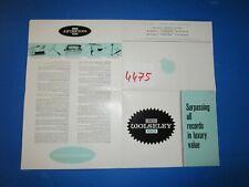 N°4475 / dépliant WOLSELEY 16-60 english text  8/61