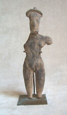 SUPERB PRE-COLUMBIAN MORELOS STANDING FEMALE FIGURE, ca. 900-300 B.C.