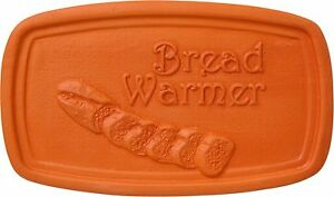 BREAD WARMER- Terra Cotta 5 x 3 Inch Tile- Makes a perfect gift!