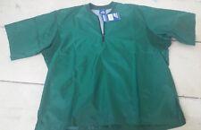 Mizuno, Baseball Short Sleeve Forest Green Pullover, Size Small