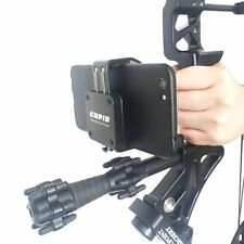 Compound Bow Smartphone Camera Mount, Mobilephone bow camera holder for HOYT