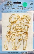 Words of God - Love Angels - Counted Cross Stitch Kit Christian