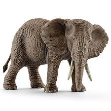 Schleich 14761 African Elephant Female Animal Model Toy Figurine 2016 - NIP