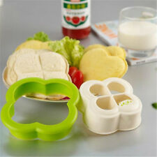 Home Cooking Cookie Sushi Maker Clover Mold Mould Toast Sandwich Bread