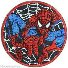 Spiderman Spider Man Web Superhero Movie Embroidered Sew Iron-On Patches #0361