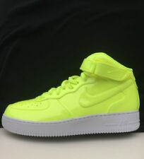 Nike Air Force 1 '07 LV8 Volt/White Size US 12 NikeLab AO0702  Retro Vintage AF1