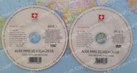 Audi MMI 2G High 2018 DVD1 + DVD2 Navigation Update