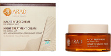 ARAD Marine Collagen + Pomegranate Night Treatment Moisturiser 50ml Eco Friendly