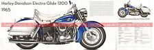HARLEY DAVIDSON 1200 Electra Glide 1965 Fiche Moto 000473