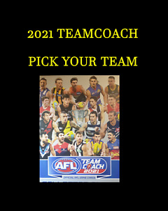 2021 TEAMCOACH TEAM SETS PICK YOUR TEAMS MAILED WELL PROTECTED