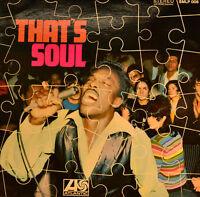 """VOLT STAX - THAT`S SOUL (VARIOUS ARTISTS) 12"""" LP (U 172)"""