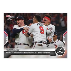 2021 Topps Now #1009 Atlanta Braves PRESALE