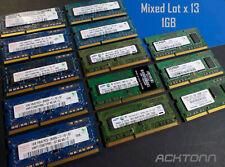 13GB Laptop RAM Lot 13x 1GB PC3-10600S/8500/1333 Samsung / hynix / Elpida