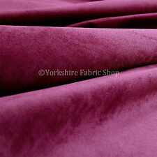 10 Metres Of Luxurious Plump Chenille Invitingly Soft Upholstery Fabric In Pink