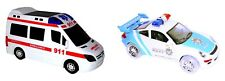 Spielzeugauto Polizei Krankenwagen Car Auto Spielzeug Kinderspielzeug LED Musik
