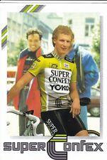 CYCLISME carte cycliste MAARTEN DUCROT équipe SUPER CONFEX