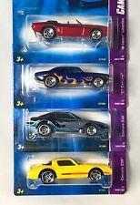 Hot Wheels 2007 - CAMARO 01 - 04 - 1967, 1969 CONVERTIBLE & two Camaro Z28