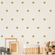 Set of 120 Polka Dot Wall Stickers Decal Childs Kids Vinyl Art Decor spots