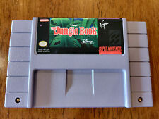 Disney's The Jungle Book (Super Nintendo Entertainment System) GOOD SNES AUTHENT