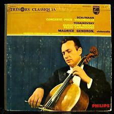 MAURICE GENDRON schumann & tchaikovsky cello LP VG+ L 0.2243 L Philips Mono RARE