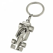 Formula 1 Car Chrome Keychain