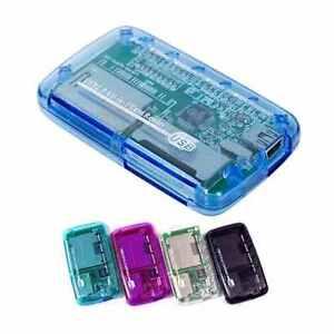 All in One USB 2.0 Multi SD SDHC Mini Micro M2 MMC Memory Card Reader
