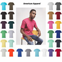 ss American Apparel Fine Jersey T-Shirt 2001W XS-3XL