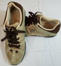 f3fed86ceb0 Buen Skechers de Mujer Cuero Marrón Nobuck caminar Confort Zapatos Tenis-Talla  9