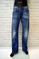 Jeans REPLAY DOC Uomo Taglia 33 47 Pantalone Pants Man Cotone Regular Blu