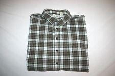 LL Bean Flannel Shirt Plaid Men XXL Tall NEW Heavy Weight